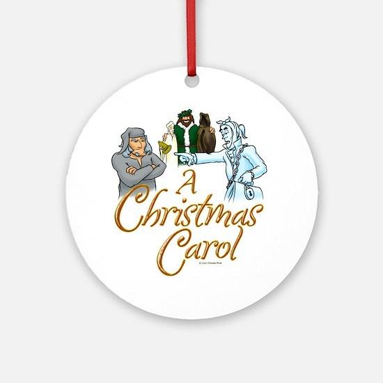 A Christmas Carol Ornament (Round)