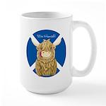Wee Hamish Highland Cow (Saltire) Mugs