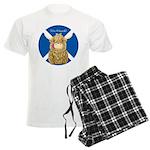 Wee Hamish Highland Cow (Saltire) Pajamas
