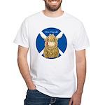 Wee Hamish Highland Cow (Saltire) T-Shirt