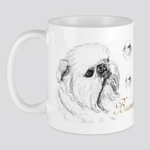 Rough Brussels Griffon Mug