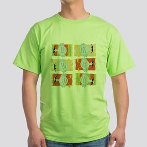 6 Geese A-Laying White T-Shirt