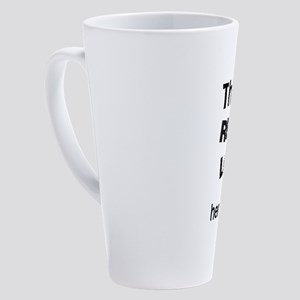 This girl really loves Scorpio 17 oz Latte Mug