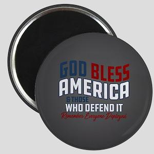 God Bless America RED Friday Magnet