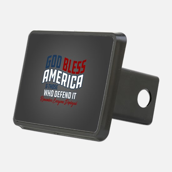God Bless America RED Frid Hitch Cover