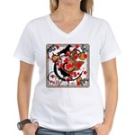 The Colors of Fall Women's V-Neck T-Shirt