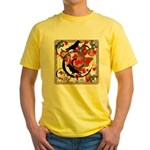 The Colors of Fall Yellow T-Shirt