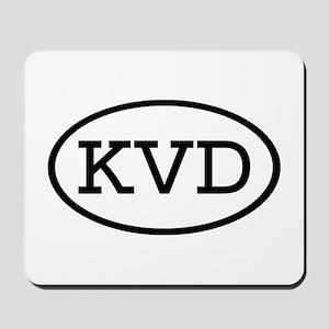 KVD Oval Mousepad