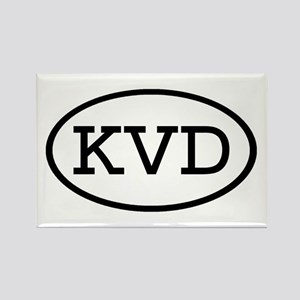 KVD Oval Rectangle Magnet