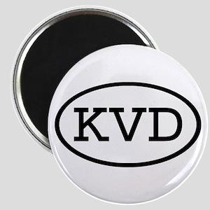 KVD Oval Magnet