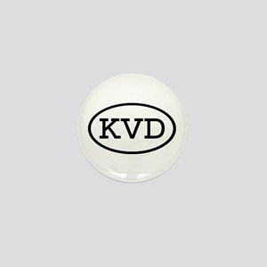 KVD Oval Mini Button