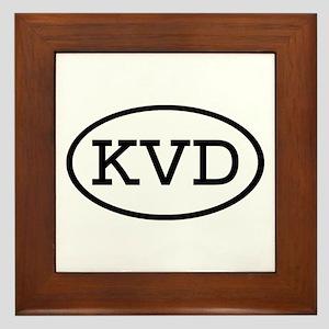 KVD Oval Framed Tile