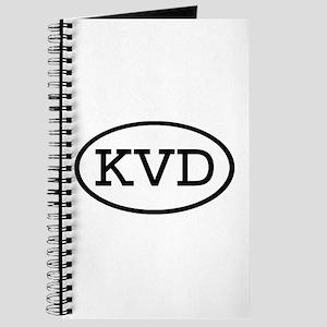 KVD Oval Journal