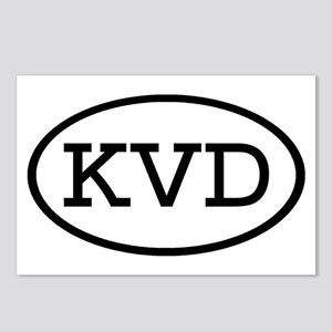 KVD Oval Postcards (Package of 8)