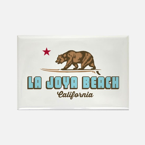 La Joya - California. Rectangle Magnet Magnets