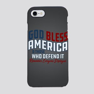 God Bless America iPhone 8/7 Tough Case