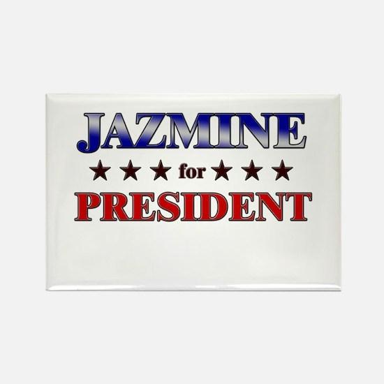 JAZMINE for president Rectangle Magnet