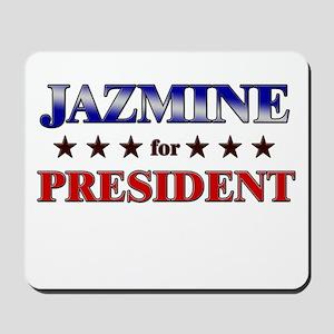 JAZMINE for president Mousepad