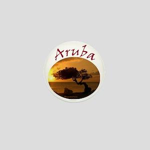 Aruba-Sunsets Logo Mini Button