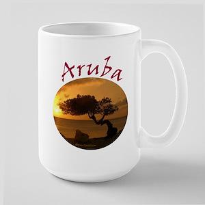 Aruba-Sunsets Logo Mugs