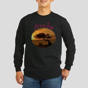 Aruba-Sunsets Logo Long Sleeve T-Shirt