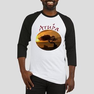 Aruba-Sunsets Logo Baseball Jersey