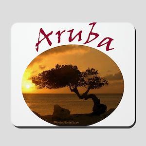 Aruba-Sunsets Logo Mousepad