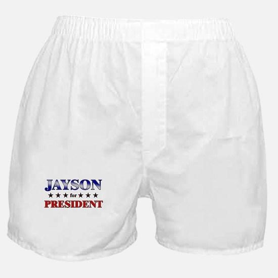 JAYSON for president Boxer Shorts