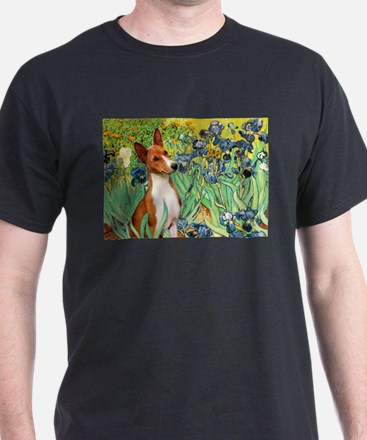 Basenji in Irises T-Shirt