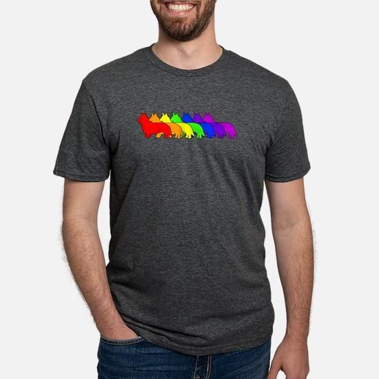 Rainbow Cardigan T-Shirt