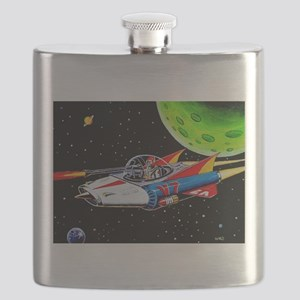 V-7 SPACE SHIP Flask