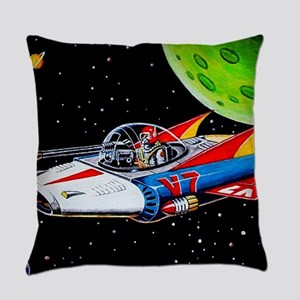V-7 SPACE SHIP Everyday Pillow