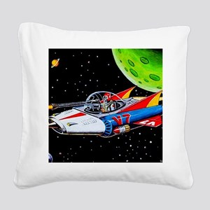 V-7 SPACE SHIP Square Canvas Pillow