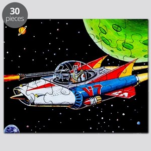 V-7 SPACE SHIP Puzzle