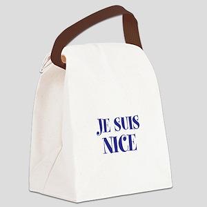 Je Suis Nice Canvas Lunch Bag