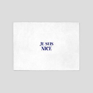 Je Suis Nice 5'x7'Area Rug