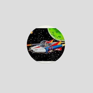 V-7 SPACE SHIP Mini Button