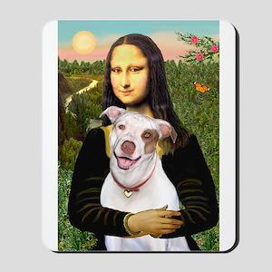 Mona's Pitbull Mousepad