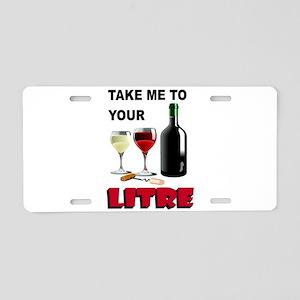 LITRE Aluminum License Plate