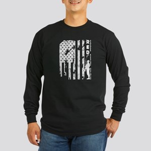Remember Everyone Deployed Red Long Sleeve T-Shirt