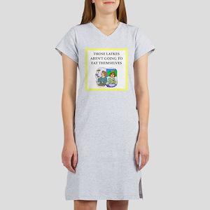 Funny food joke Women's Nightshirt
