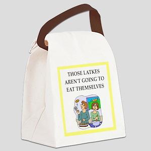 Funny food joke Canvas Lunch Bag