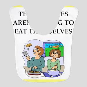 Funny food joke Bib