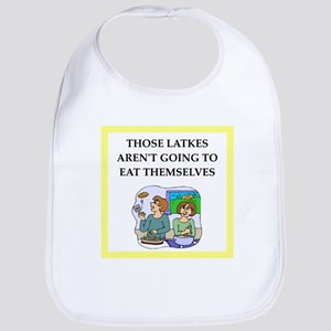 Funny food joke Bib