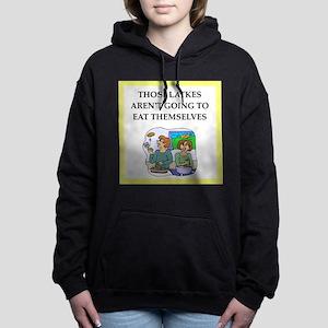 Funny food joke Women's Hooded Sweatshirt