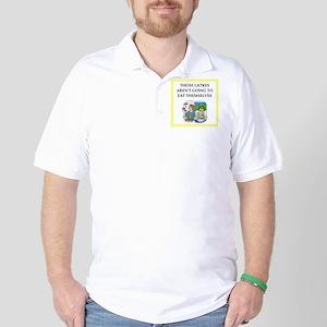 Funny food joke Golf Shirt