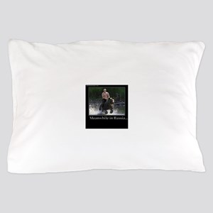 Vladimir Putin Riding A Bear Pillow Case
