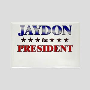 JAYDON for president Rectangle Magnet
