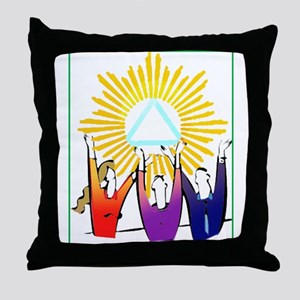 Recovery CELEBRATION Throw Pillow