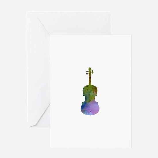 Viola Greeting Cards